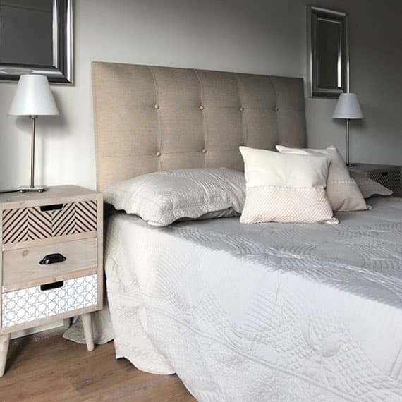Dormitorio de Apartamento en Jardín de Thompson